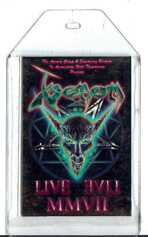 venom black metal 2007 passes