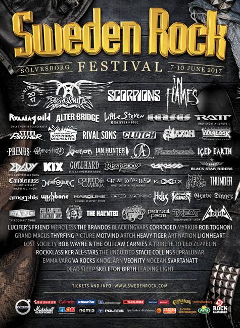 Venom sweden rock festival 2017 review