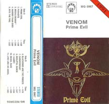Venom Tapes Collection prime evil rare tape