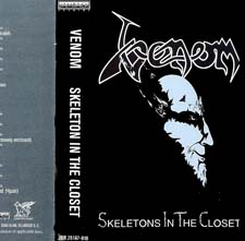 Venom Tapes Collection Skeletons In The Closet rare tape