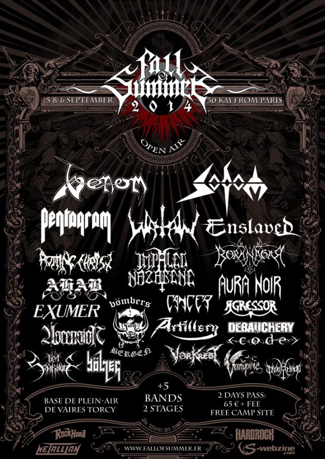 venom fall of summer poster