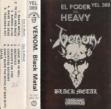 Venom Tapes black metal tape
