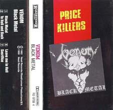 Venom Tapes black metal