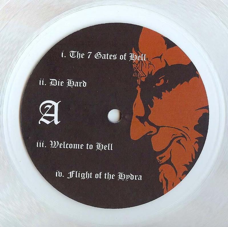 In Nomine Satanas Vinyl Bootleg Greece 1997
