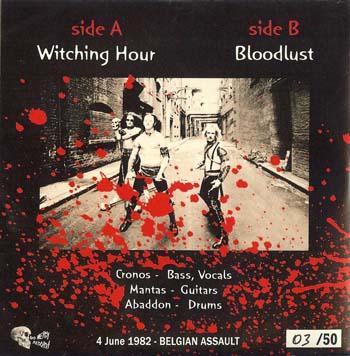 LIVE BELGIUM 1982 BOOTLEG VENOM