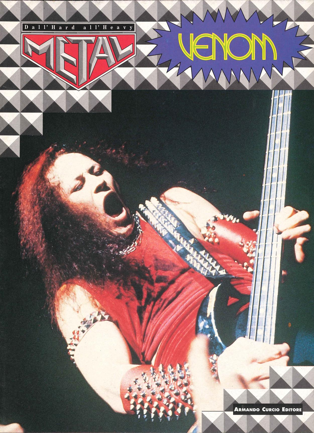 venom black metal magazine cover