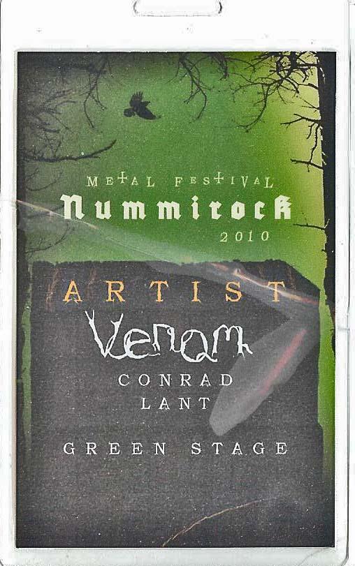 venom nummirock festival pass