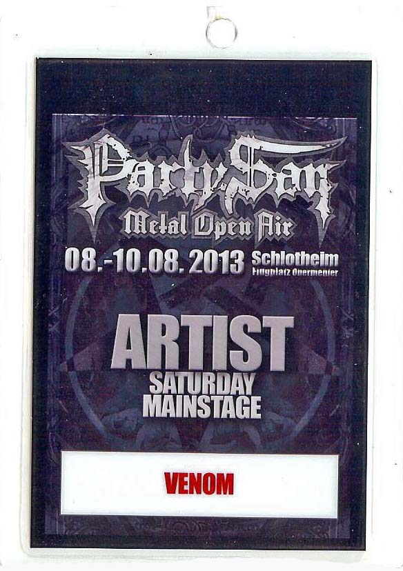 venom party san open air pass