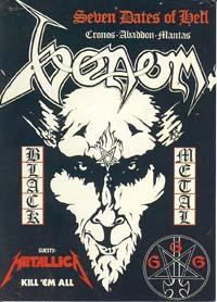 venom seven dates of hell tour