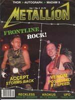 venom metallion magazine