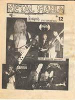 venom metal mania magazine