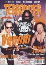 venom terrorizer magazine