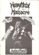 venom heavy metal massacre magazine