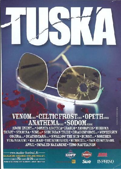 Tuska festival 2006 poster