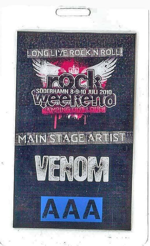venom black metal tour pass