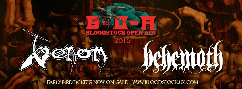 Venom bloodstock 2016 show
