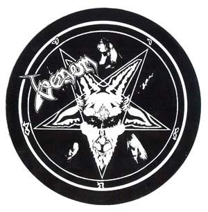 venom black metal reunion 1996 sticker