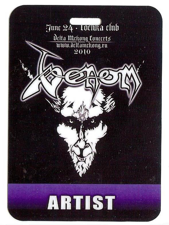 venom cronos backstage pass