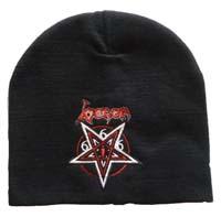 venom black metal beanie