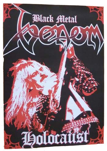 venom black metal holocaust poster mantas