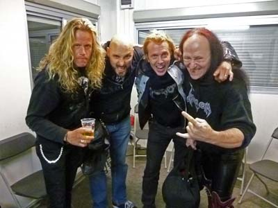 Backstage With Venom Black Metal Live Show