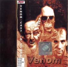 Venom Tapes Collection cast in stone rare tape
