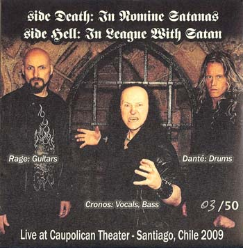 Live Chile 2009 Bootleg Venom Black Metal