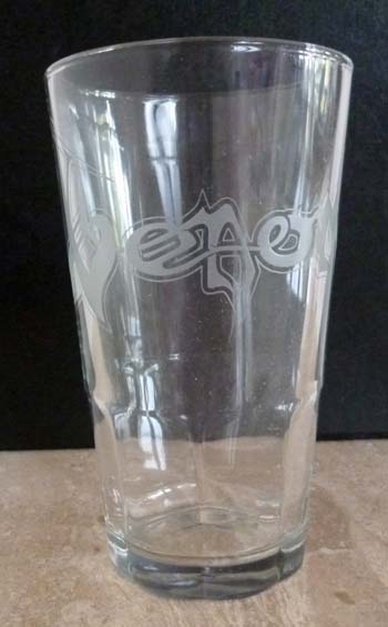 Venom Black Metal Glass