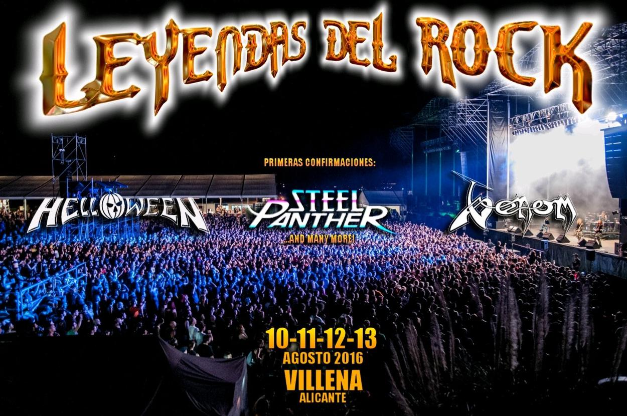 Venom Latest news leyendas rock festival 2016