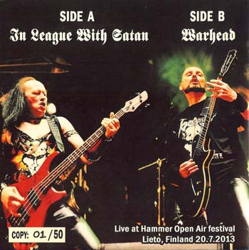 Live In Finland Bootleg 7 single Venom