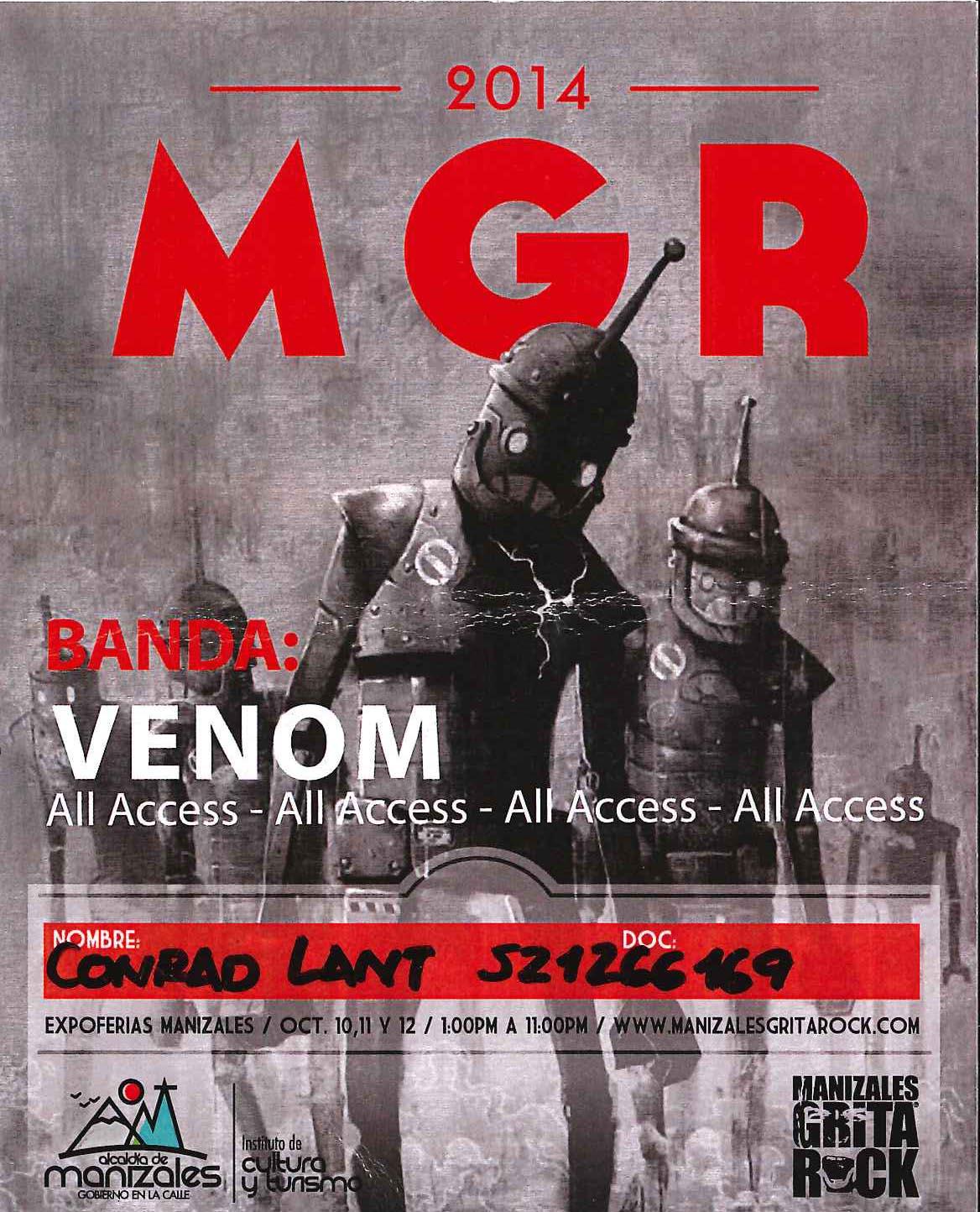 venom black metal collection homepage tour pass rare