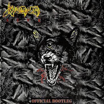 venom black metal official bootleg
