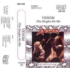 Venom Tapes Collection the singles poland rare
