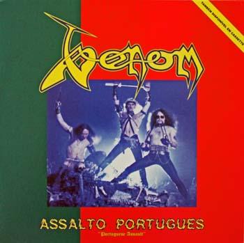 Portuguese Assault vinyl bootleg VENOM black metal cronos mantas abaddon