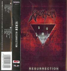 Venom Tapes Collection resurrection rare tape