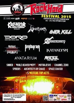 venom black metal rock hard poster 2015
