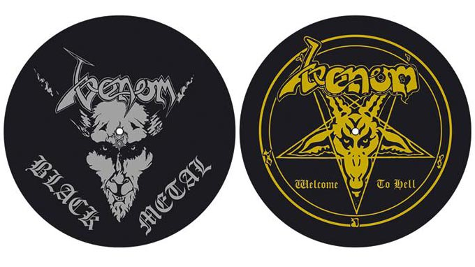 venom black metal slipmats