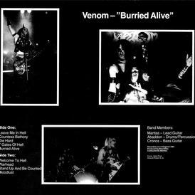 venom buried alive rare bootleg vinyl