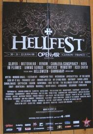 venom black metal hellfest poster 2008