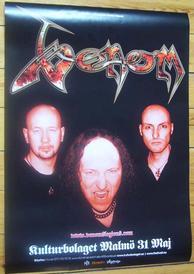 venom malmö 2007 poster