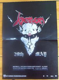venom black metal oslo 2007 poster