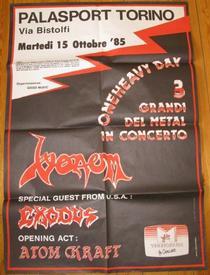 venom torino poster 1985