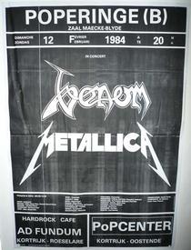 venom poperinge 1984 poster