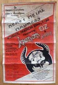 venom buffalo 1985 poster