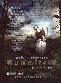venom black metal nummirock festival 2010