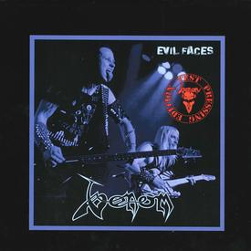 Venom black metal ecil faces bootleg vinyl rare