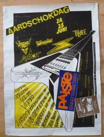 venom aardschokdag 1983 poster
