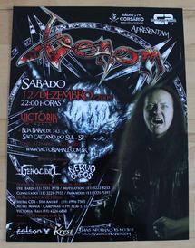 venom black metal brazil 2009 poster