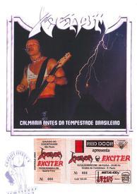 Venom Brasil 1986 picture disc bootleg