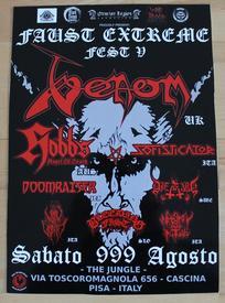 venom black metal faust extreme festival 2014